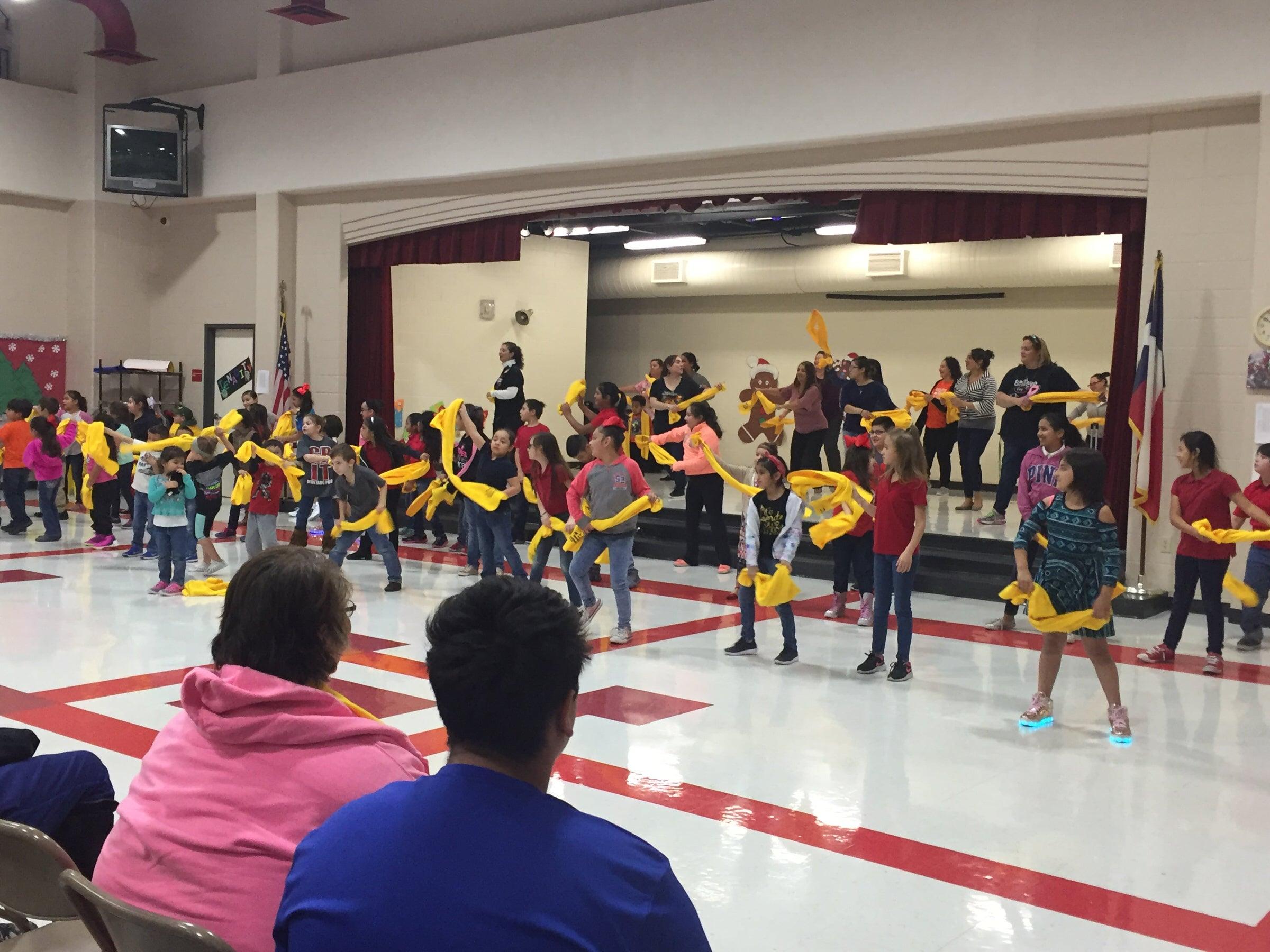 NSCW dance assembly - Noonan Elementary School, Alice, TX